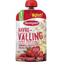 Веллинг овсяный с фруктами и ягодами Semper (готовая к употреблению), 120 г