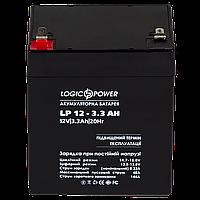 Аккумуляторная батарея,кислотная, LP 12 - 3,3 AH