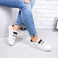 Кеды женские 3 Lipp белые 4576, кеды женские осенняя обувь