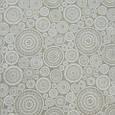 Декоративная ткань для штор, круги, бело-молочный, фото 2