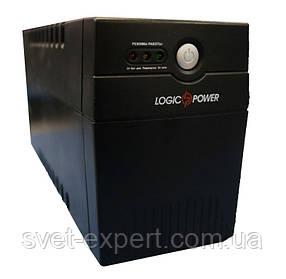 Стабилизатор ИБП LPM-525VA-P, 2 евророзетки, 3 ступ. AVR, 4.5Ач12В. Пластиковый корпус, цвет черный.