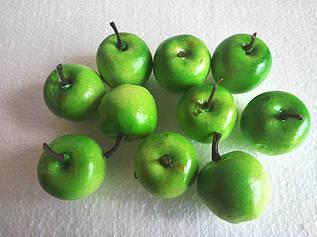Декоративные яблоки зеленые