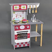 Дитяча ігрова дерев'яна кухня