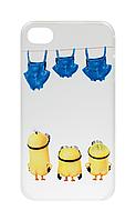 Чохол-накладка Minions Naked для iPhone 4 / 4S
