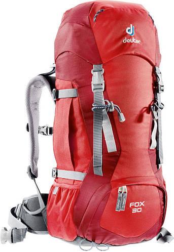 Рюкзак туристический 30 л. для детей DEUTER FOX 30, 36053 5520 красный