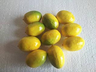 """Декоративные фрукты """"Лимон"""""""