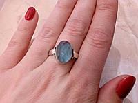 Красивое кольцо с кварц-топазом в серебре. Кольцо кварц-топаз 19,5 размер Индия!, фото 1