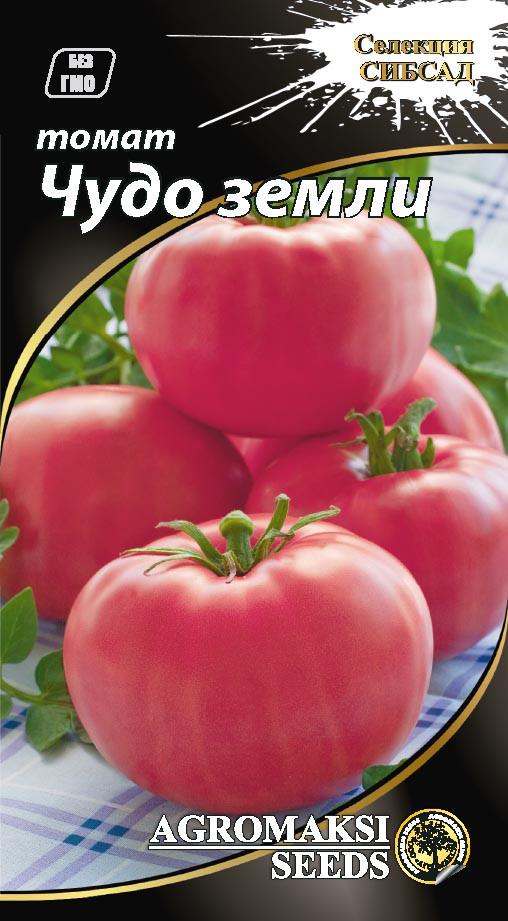 """Насіння томатів """"Диво землі"""" 0,1 г"""