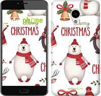 "Чехол на Meizu M3s Merry Christmas ""4106c-943-571"""