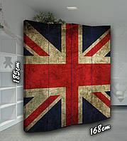Ширма двусторонняя Великобритания 4 створки, фото 1