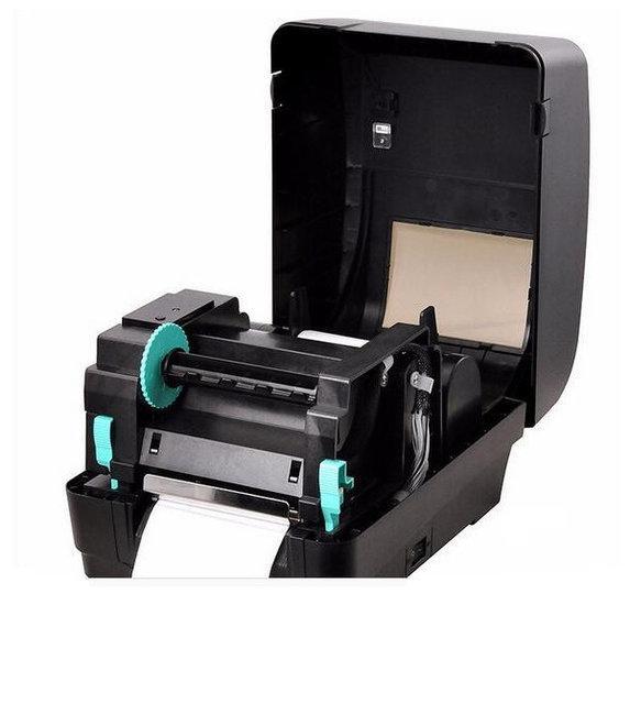 Термотрансферный Принтер штрих кодов ценников бирок для одежды Xprinter XP-H500B