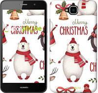 """Чехол на Huawei Y6 Pro Merry Christmas """"4106c-355-571"""""""