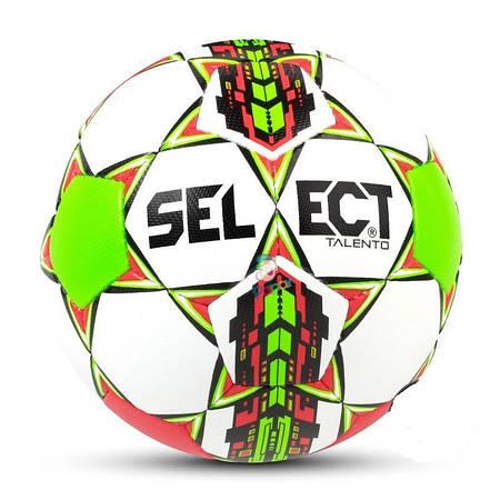 Футбольный мяч Talento белый-красный 77583-304