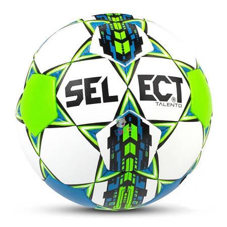 Футбольный мяч Talento белый-синий 77583-305
