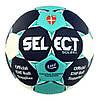 Мяч гандбольный Select Solera IHF №2 White-Blue-Black 163285-212