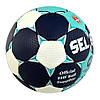 Мяч гандбольный Select Solera IHF №2 White-Blue-Black 163285-212, фото 2