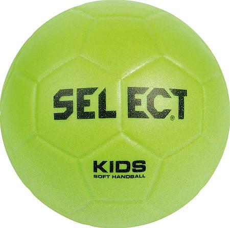 Мяч гандбольный Select Soft Kids (015) Lime 277025-015
