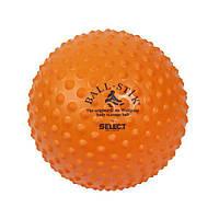 Мяч массажный Select Ball-Stick Orange 245570-002
