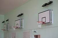 Щит баскетбольный тренировочный 1200х900 мм  (ламинированная влагостойкая фанера 10 мм) с силовой антивибрационной рамой