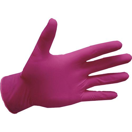 Перчатки нитриловые, розовие Pink Rose - 100 шт/уп, XS, S, M