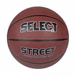 Мяч баскетбольный Select Basket Street Brown-Black-Silver 205770-218