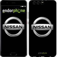 """Чехол на Huawei P10 Plus Nissan. Logo v3 """"3131u-963-571"""""""