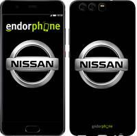 """Чехол на Huawei P10 Nissan. Logo v3 """"3131c-780-571"""""""
