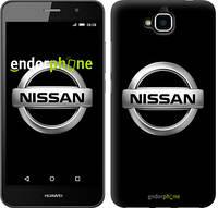 """Чехол на Huawei Y6 Pro Nissan. Logo v3 """"3131c-355-571"""""""