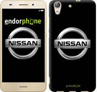 """Чехол на Huawei Y6 II Nissan. Logo v3 """"3131c-338-571"""""""