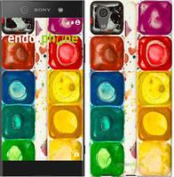 """Чехол на Sony Xperia XA1 Палитра красок """"2837c-964-571"""""""