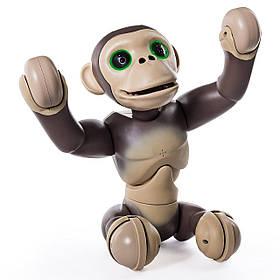 Интерактивный Робот-Обезьяна Шимпанзе с голосовыми командами Зумер Zoomer Chimp Interactive Spin Master