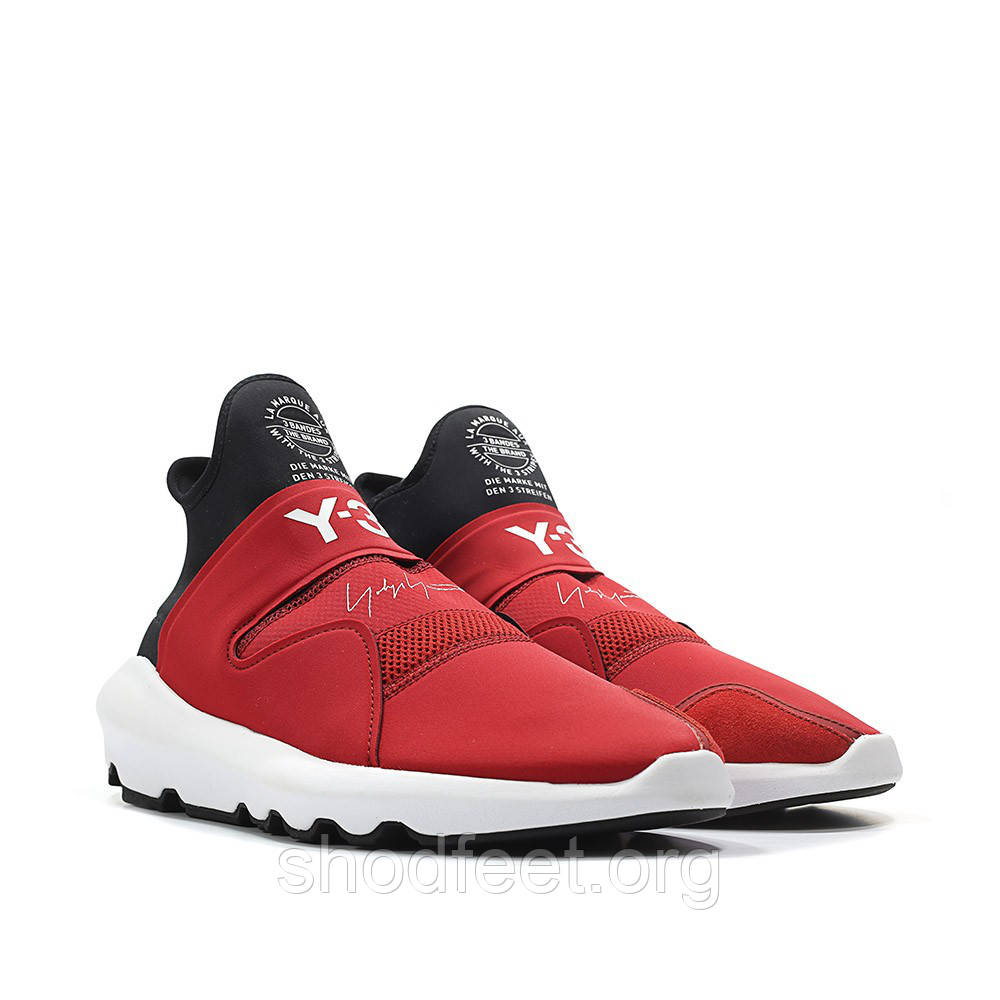 Женские кроссовки Adidas Y-3 Suberou Chilli Pepper Red