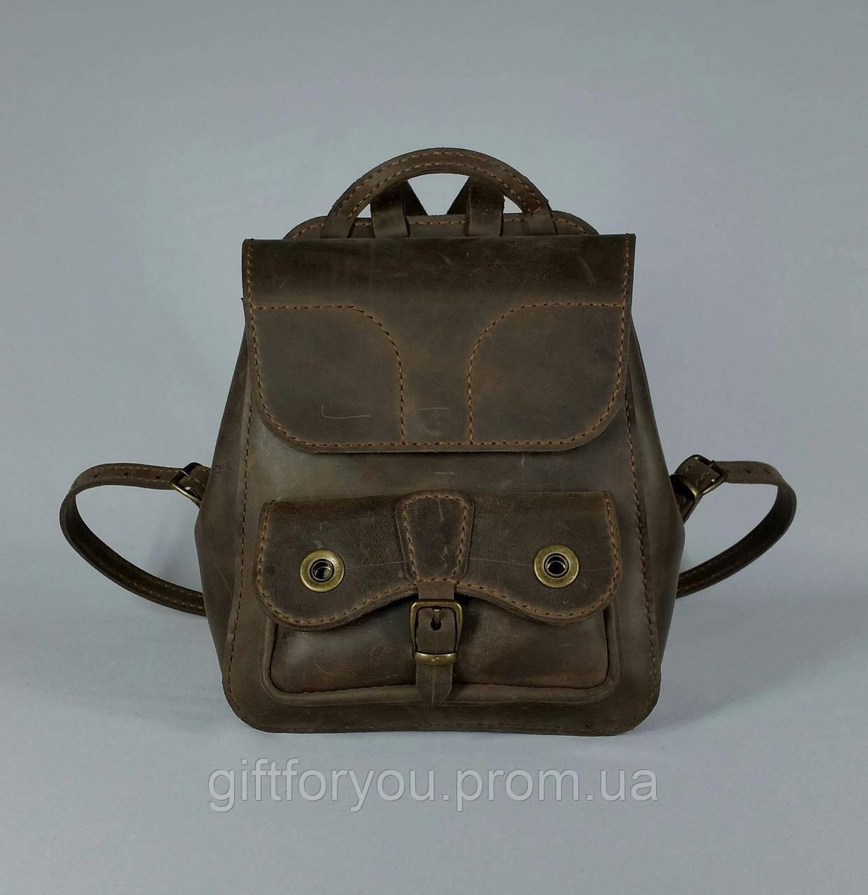 1bfb0e0f894b Рюкзак унисекс, натуральная кожа, ручная работа 23*20см.: продажа ...