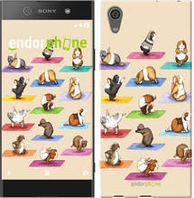 """Чехол на Sony Xperia XA1 Ultra Йога морских свинок """"2811u-1237-571"""""""