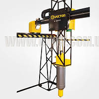 3D - принтер Vector 52-36-10 3D    Строительный 3D - принтер