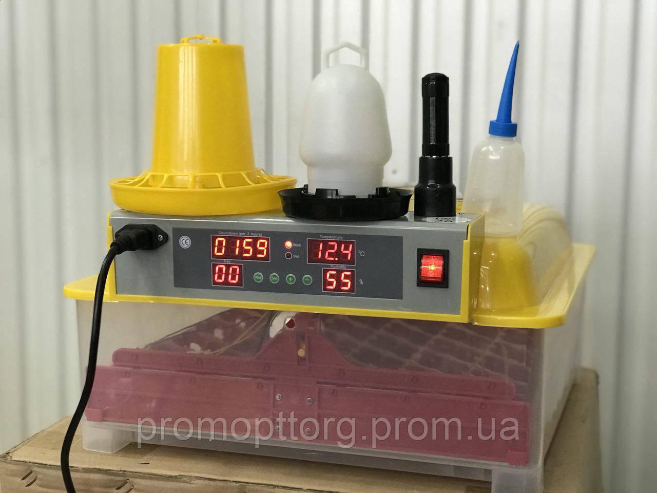 Инвекторный автоматический Инкубатор MS-36/144  на 36 куриных яиц