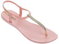 Женские летние босоножки Ipanema Charm V Sandal Pink/Gold 82283-22031