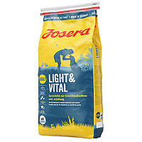 Josera (Йозера) Light and Vital корм для малоактивных собак и склонных к полноте 15кг