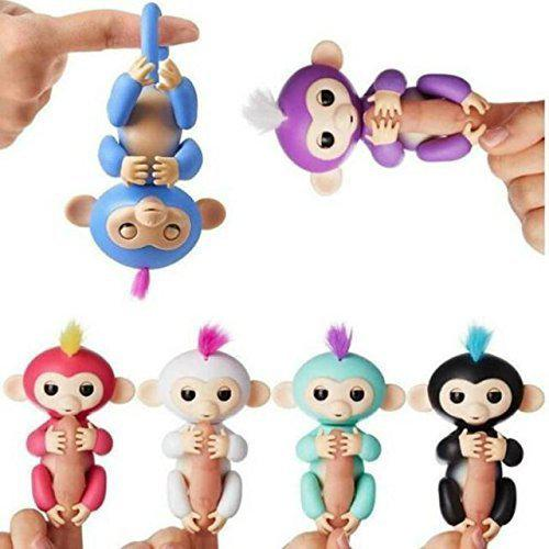 Fingerlings Baby Monkey Игрушка обезьянка ручная copy