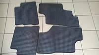 Комплект резиновых ковров Mercedes SPRINTER '97-'06 grey> Gz/Dom Domax