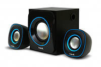 Акустическая система звука 2.1 Havit HV-SK450 USB, black+blue