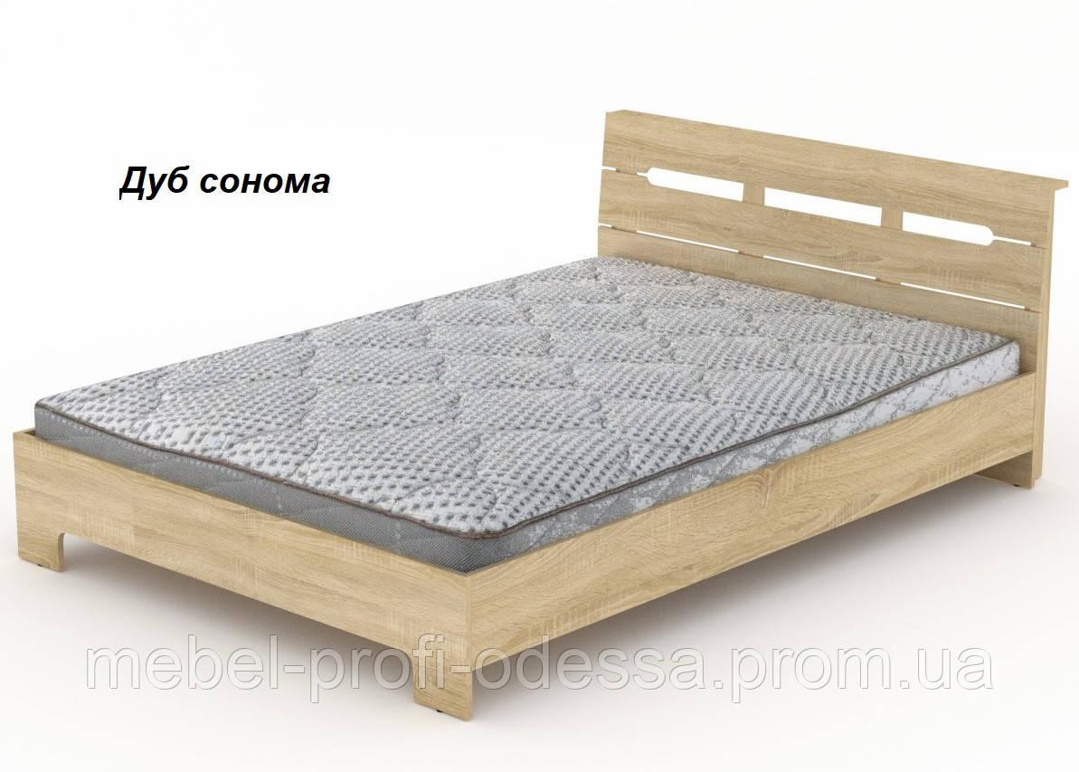 Кровать Стиль 140 Компанит Модульная система Стиль Полуторная кровать