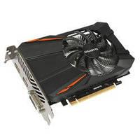 Видеокарта GeForce GTX1050Ti, Gigabyte, 4Gb DDR5, 128-bit, DVI/HDMI/DP, 1430/7008 MHz (GV-N105TD5-4GD)