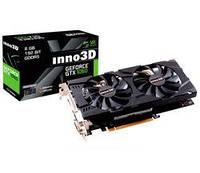 Видеокарта GeForce GTX1060 Inno3D X2 6Gb DDR5, 192-bit, 2xDVI/HDMI/DP 1708/8000 MHz 6-pin (N106F-5SDN-N5GS)