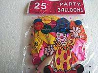 Воздушные латексные шары 25 шт.