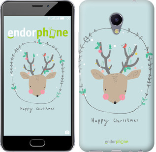"Чехол на Meizu M5 Note Happy Christmas ""4185c-447-571"""