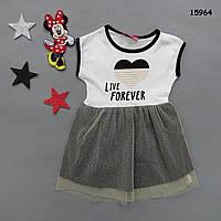 Літнє плаття для дівчинки. Маломерит. 1 рік, фото 1