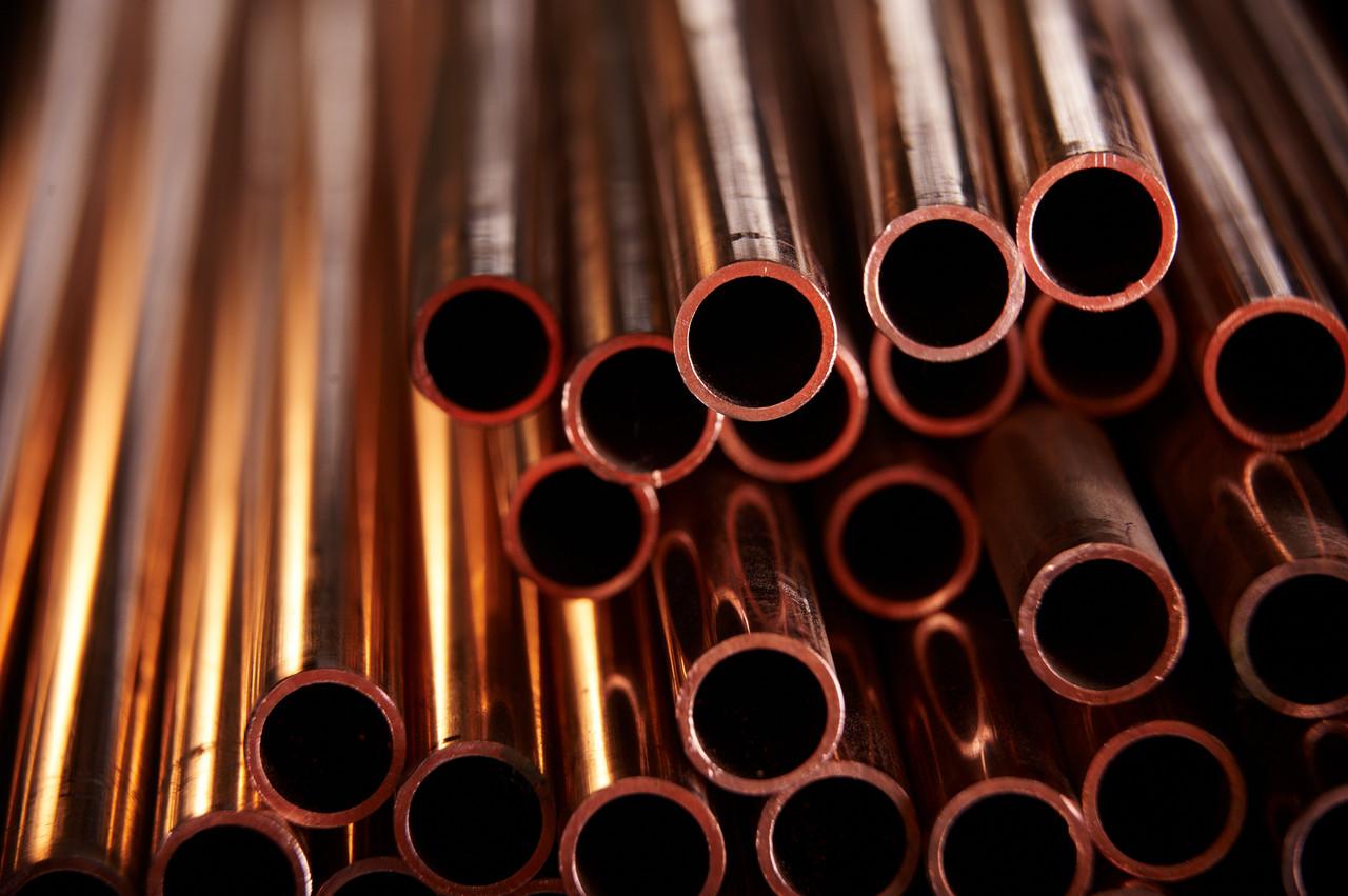 Медная труба 6х1 мм медь марки М1 и М2, как мягкая так и твердая в асс
