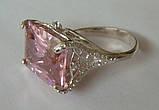Кольцо КН986МД, серебро 925 проба, кубический цирконий., фото 2