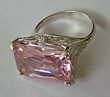 Кольцо КН986МД, серебро 925 проба, кубический цирконий., фото 5